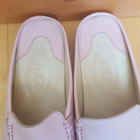 Tod's Pale pink Mules Image 3