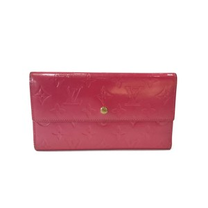 Louis Vuitton Louis Vuitton Long Wallet in Monogram Vernis