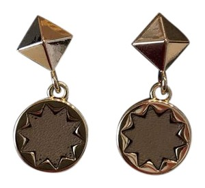 House of Harlow 1960 gold charm earrings