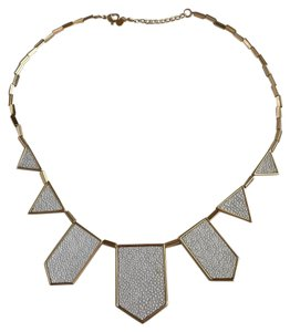 House of Harlow 1960 gold necklace
