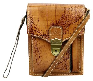 Patricia Nash Designs Riot Rust Montoro North/south Cross Body Bag