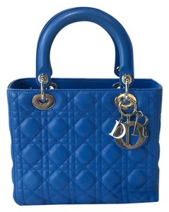 Dior Tote in Royal Blue