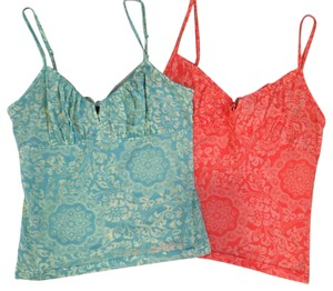 Express Top Orange/Green