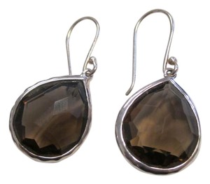 Ippolita IPPOLITA Teeny Teardrop Sterling Rock Candy Smoky Quartz Earrings