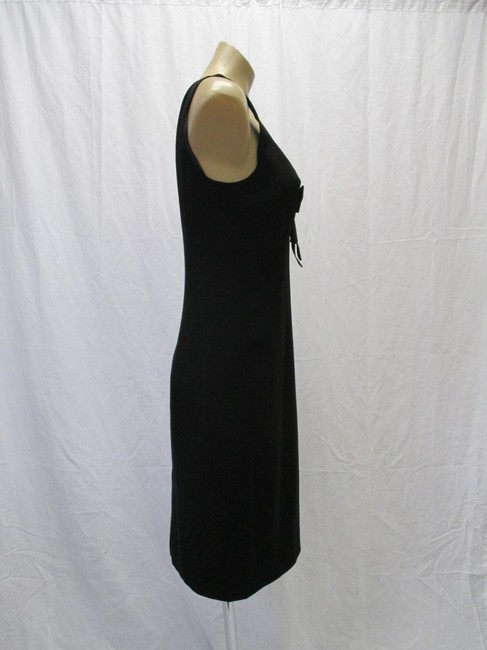 Moschino Virgin Wool Sleeveless Bow Size 44/10 Dress Image 2