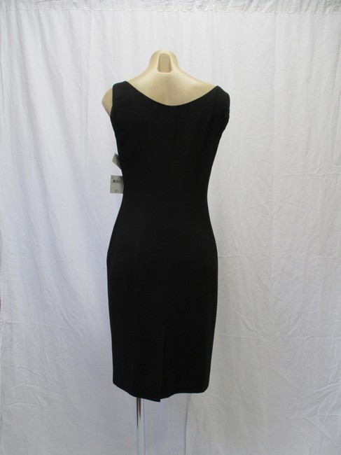 Moschino Virgin Wool Sleeveless Bow Size 44/10 Dress Image 3