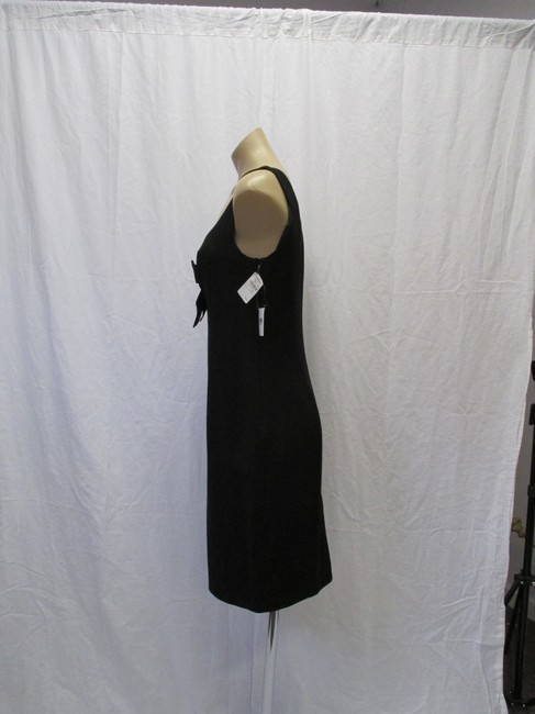 Moschino Virgin Wool Sleeveless Bow Size 44/10 Dress Image 4