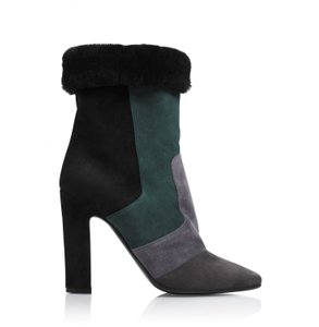 Tamara Mellon Green Multi Boots