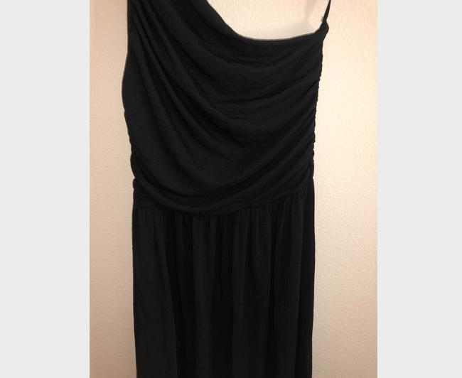 Black Maxi Dress by Tart Spaghetti One Shoulder Soft Stretchy Image 6