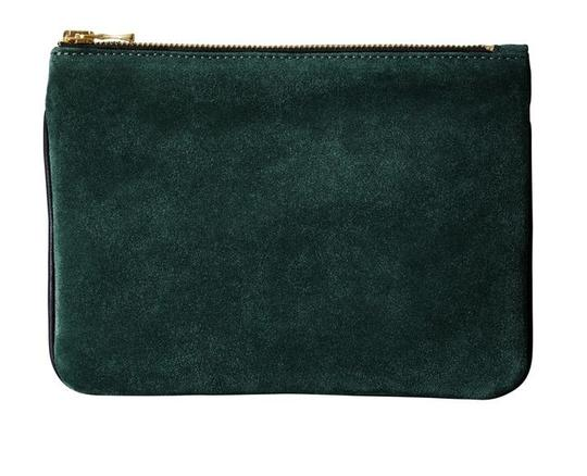 Preload https://img-static.tradesy.com/item/21071568/balmain-x-h-and-m-green-clutch-limited-edition-rare-small-suede-wallet-0-0-540-540.jpg