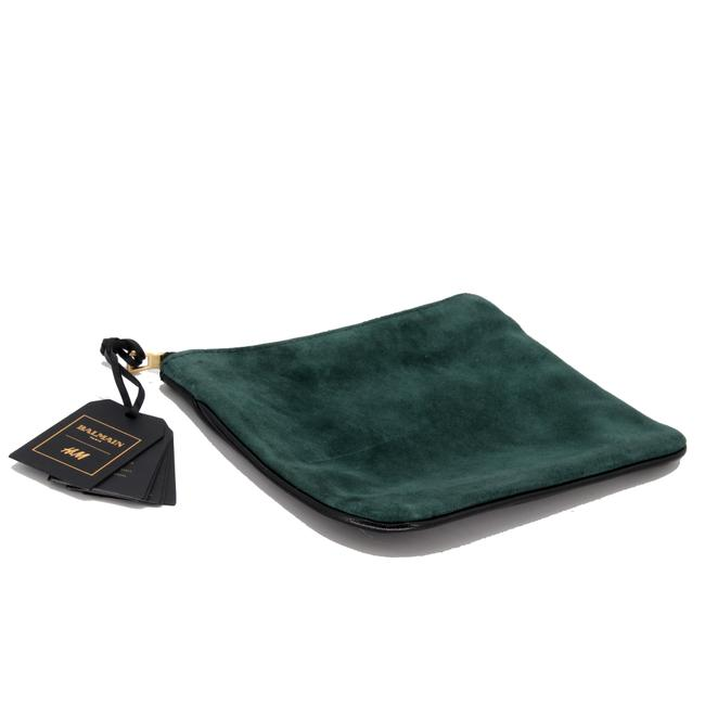 Item - Green Clutch Limited Edition Rare Small Suede Wallet