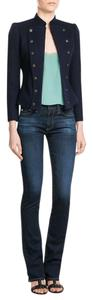 AG Adriano Goldschmied Stretch Flare Leg Jeans-Dark Rinse