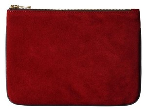Balmain x H&M Balmain x H&M Limited Edition Rare Small Suede and Leather Clutch