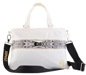 Zumba Fitness Shoulder White Messenger Bag