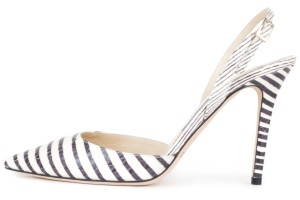 Jimmy Choo white & black Pumps