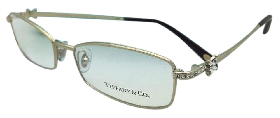157deab22074 Tiffany   Co. New Tf 1098-b 6021 53-16 135 Gold Frame W  Crystals Not W   Sunglasses