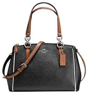 Coach Satchel in SILVER/BLACK MULTI