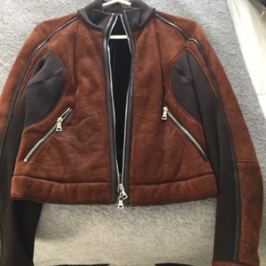 Prada Chocolate lightweight shearling Jacket