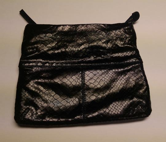 Club Monaco Day And Evening Wear Black irridescent Clutch Image 1