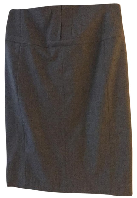 Item - Gray High Waisted Pencil Skirt Size 6 (S, 28)