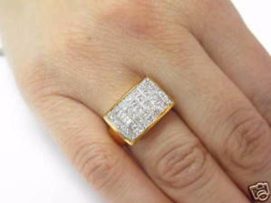 Other Fine 18Kt Inivisble Diamond Square Jewelry Ring 1.48CT Image 1