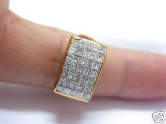 Other Fine 18Kt Inivisble Diamond Square Jewelry Ring 1.48CT Image 5