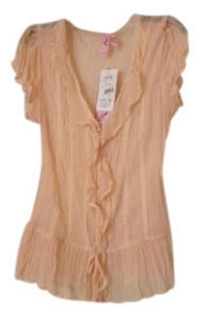 Preload https://item3.tradesy.com/images/dolled-up-peach-d7ev574bbrm-button-down-top-size-12-l-21072-0-0.jpg?width=400&height=650