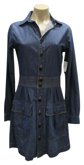 Preload https://img-static.tradesy.com/item/21072025/frame-blue-denim-long-sleeve-front-pockets-and-brown-stitching-short-casual-dress-size-4-s-0-1-650-650.jpg