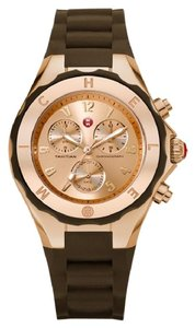 Michele Brand New Jelly Bean brown/ rose gold Watch