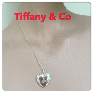 Tiffany & Co. love heart necklace