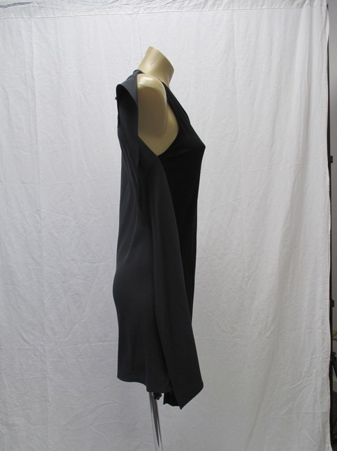 3.1 Phillip Lim Black/Gray Size 4 New With Tags Silk/Sleeveless Dress Image 1