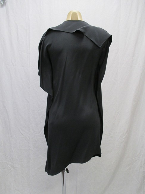3.1 Phillip Lim Black/Gray Size 4 New With Tags Silk/Sleeveless Dress Image 3