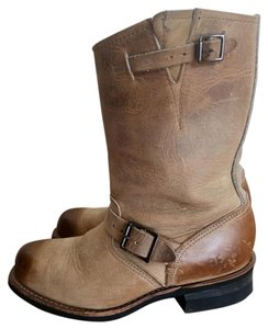 Frye Leather Tan Boots