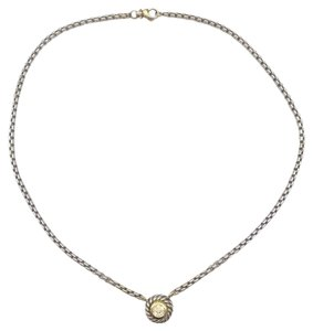David Yurman David Yurman Diamond Cookie Necklace