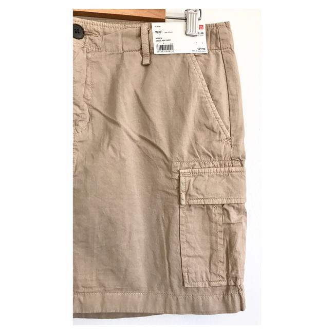 Uniqlo Mini Skirt beige Image 2