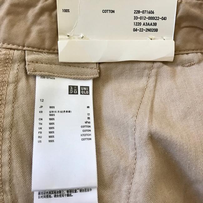Uniqlo Mini Skirt beige Image 3