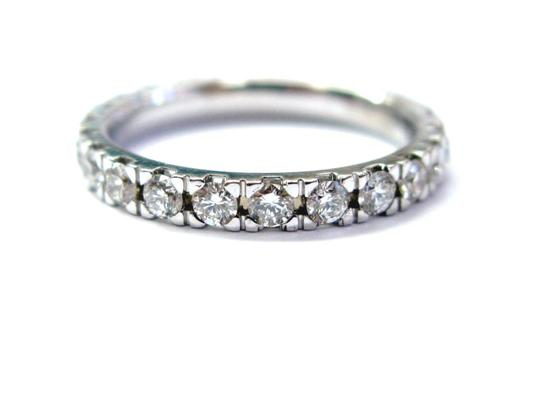Other Fine Round Cut Diamond Eternity Band Ring WG 1.16CT Sz 6 Image 0