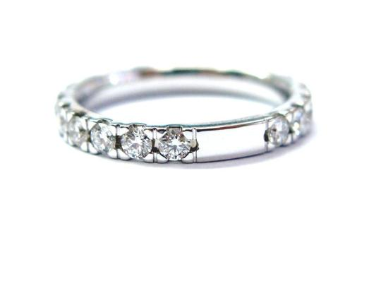Other Fine Round Cut Diamond Eternity Band Ring WG 1.16CT Sz 6 Image 1