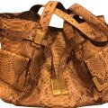 Michael Kors Collection Satchel in gold, multi