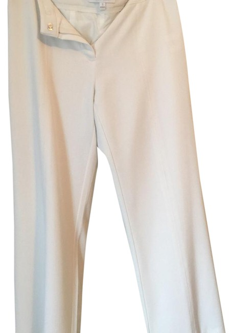 Ellen Tracy Relaxed Pants White Image 1