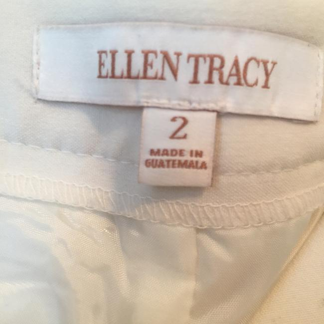 Ellen Tracy Relaxed Pants White Image 3