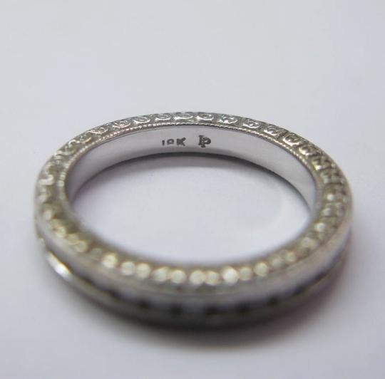 Other 18KT Round Cut Diamond Eternity Band Ring Solid White Gold .75CT Image 1