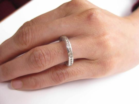 Other 18KT Round Cut Diamond Eternity Band Ring Solid White Gold .75CT Image 2