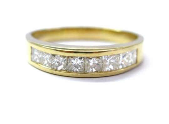 Preload https://img-static.tradesy.com/item/21072412/18kt-princess-cut-diamond-channel-set-band-8-stone-yellow-gold-1-ring-0-0-540-540.jpg