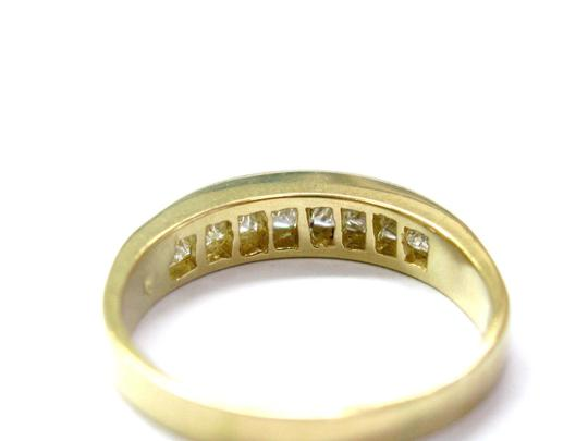 Other 18KT Princess Cut Diamond Channel Set Band Ring 8-Stone Yellow Gold 1. Image 2