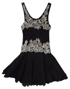 Laurence Kazar Sequin Pearl Beads Prom Dress