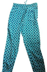 Michael Kors Relaxed Pants Teal, Black