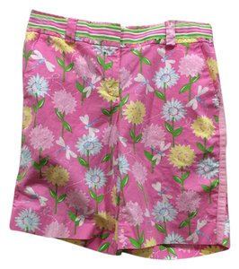 Lilly Pulitzer Bermuda Shorts pink floral