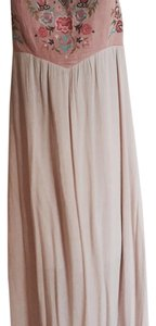 pink bodice...tan skirt Maxi Dress by Altar'd State