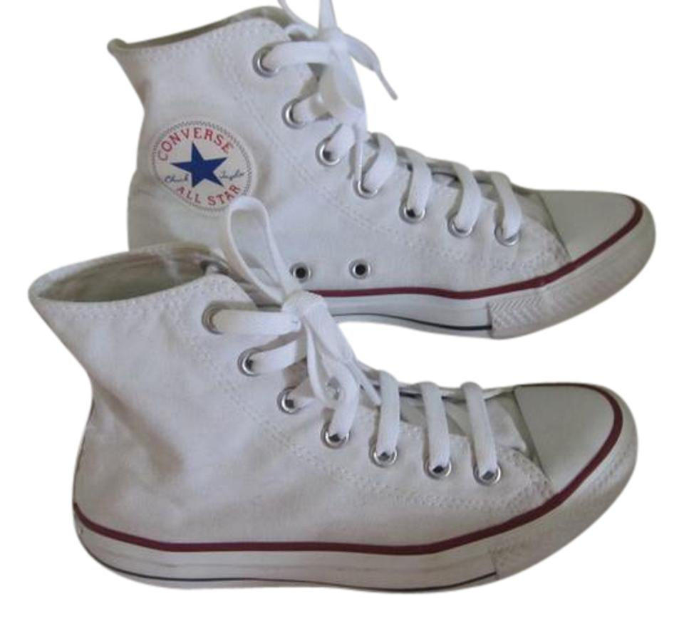 b2df9ce5693 Converse Optical White M7650 All Star Chuck Taylor Hitop Sneakers ...